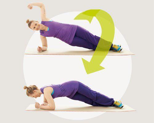 """Bauch-Übungen für Zuhause - so geht's: <b></b>Eine Wiederholung sollte 7 Sekunden dauern, 3 Sekunden hoch, 1 Sekunde halten, 3 Sekunden runter. So werden alle Schwungkräfte ausgeschaltet, nur die Bauchmuskeln arbeiten. """"Hochintensives Training für den Bauch sollten Sie zwei- bis dreimal pro Woche machen, um der Muskulatur durch Ruhetage Zeit zum Erholen zu geben"""", empfiehlt Prof. Jürgen Gießing, Sportwissenschaftler von der Universität Koblenz-Landau. Das Geheimnis: Durch hohe Kraftreize und…"""
