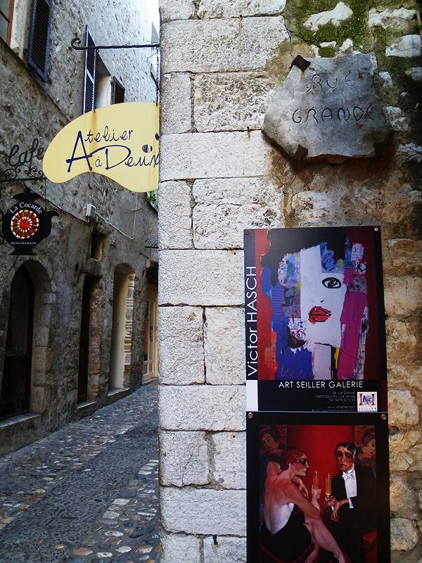 Galleries in St Paul-de-vence