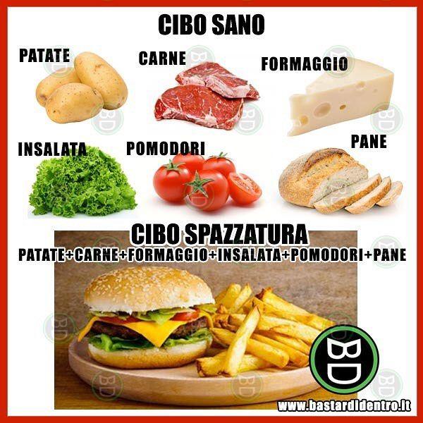 Ci avete fatto caso che... #bastardidentro #perfettemente #cibo #panino www.bastardidentro.it