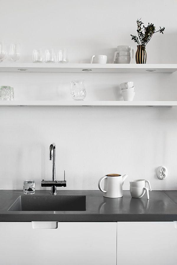 die besten 25 k che anthrazit ideen auf pinterest moderne k che im freien u k che mit tresen. Black Bedroom Furniture Sets. Home Design Ideas