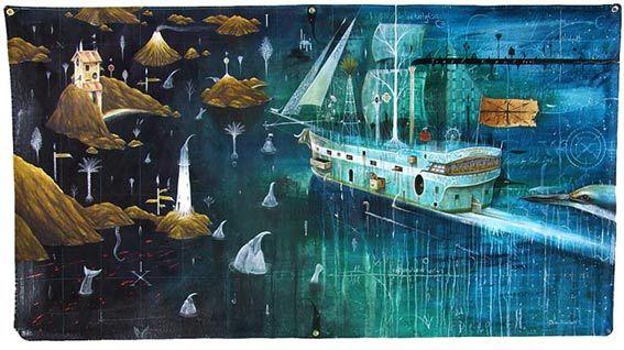 dean raybould nz contemporary artist, surralist, humourous