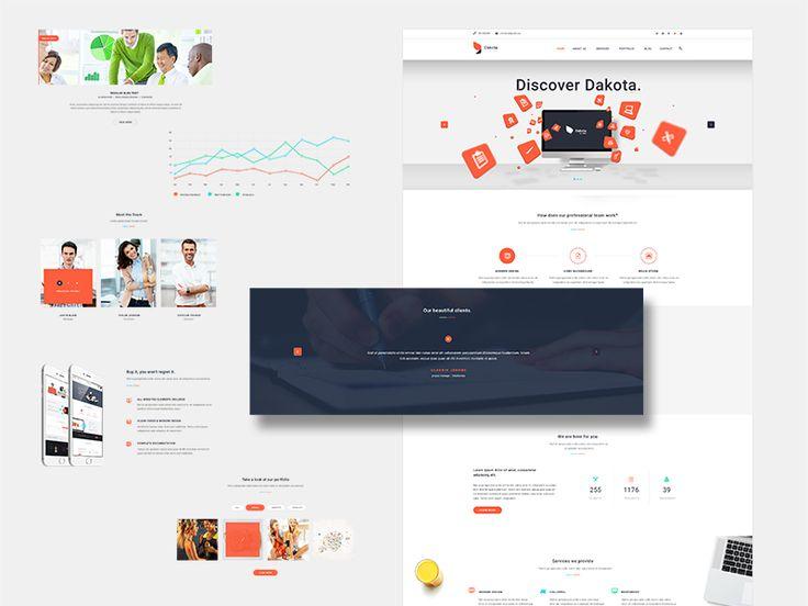 Dakota - Multi-Purpose Business WordPress Theme