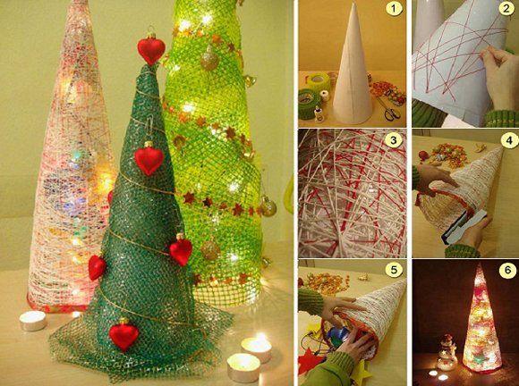 e-mama.gr   Τα 25 πιο πρωτότυπα DIY Χριστουγεννιάτικα δέντρα - e-mama.gr