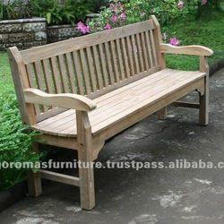 Mobília ao ar livre de madeira banco de Jardim banco Do Pátio-em Bancos de praça de Móveis para o ar livre em m.portuguese.alibaba.com.