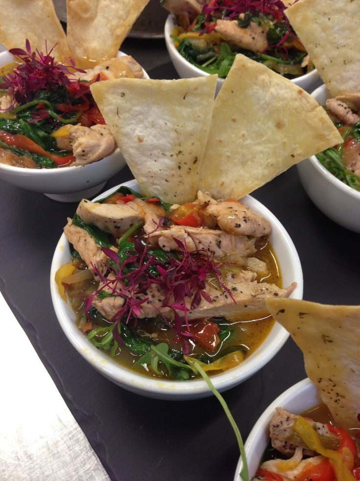 Chicken pepperonita with tortilla crisps at #CafePortrait – mouth-watering….!
