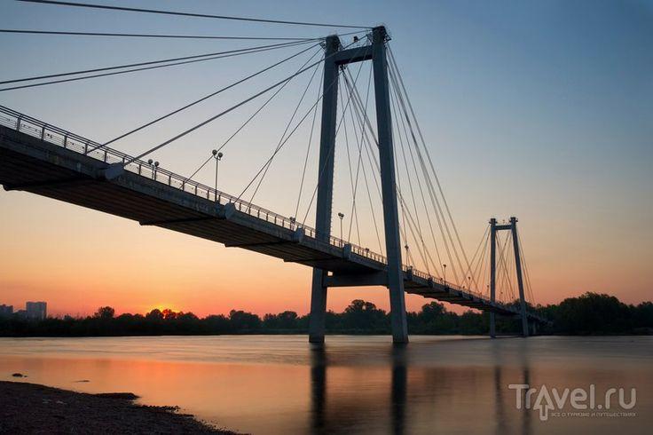 Города России: Красноярск / Мост через Енисей