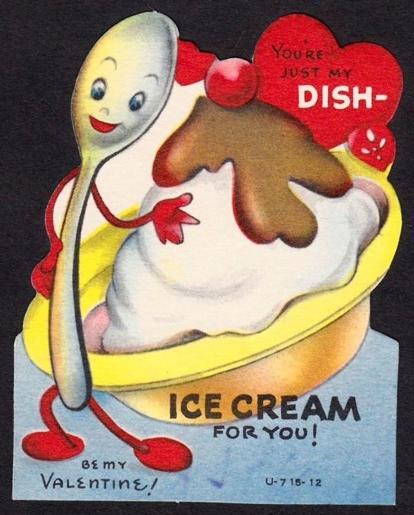 641 best images about Holidays Valentines Day Vintage – Huge Valentine Cards