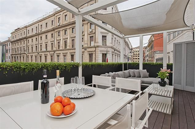 The Prometheus Apartment in #Rome, A high-tech gem with terrace!