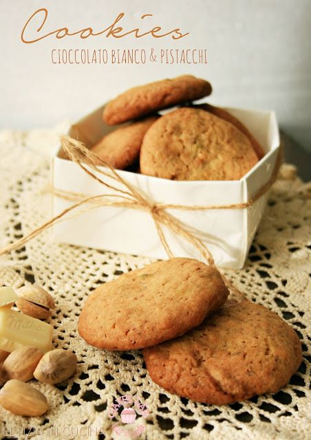 Letizia in Cucina: Cookies Cioccolato & Pistacchi