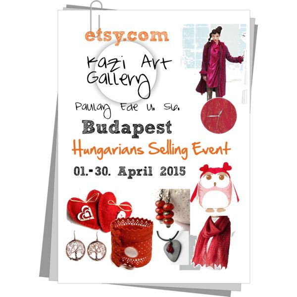 Spring exhibition Budapest IV. by erika-hodi on Polyvore featuring etsy and hetsellingevent