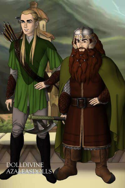 Legolas and Gimli | Lord of the Rings | Pinterest