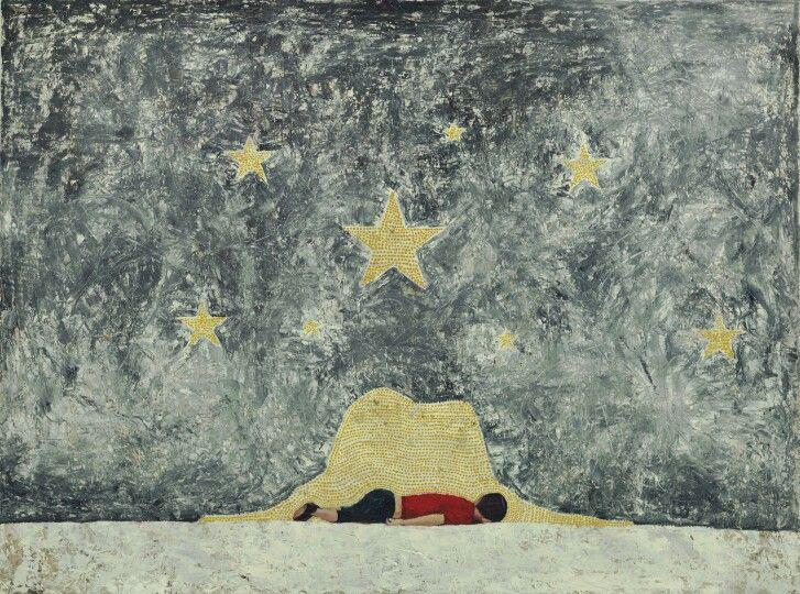 어둠을 삼킨 밤 60F oil on canvas 2015(sold out)