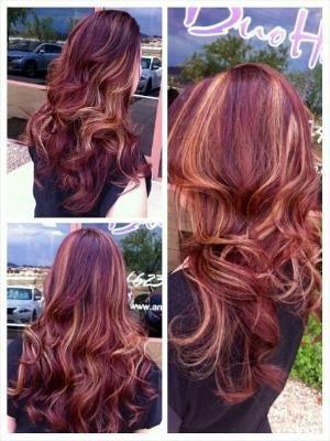 25 beautiful blonde peekaboos ideas on pinterest blonde red hair with blonde peekaboo highlights by samantha arvizo pmusecretfo Image collections