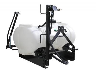 Herbicide 60 Gallon 3 Point Sprayer 6 Roller Delavan Pump