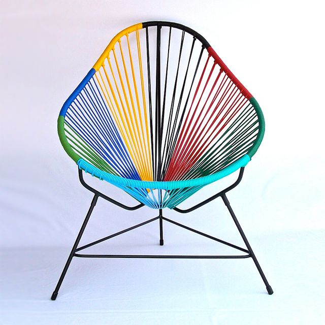 Fancy - Technicolor Acapulco Chair by Ocho Workshop