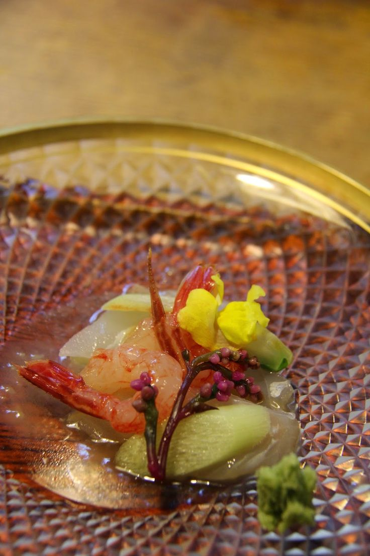 A late summer's Kaiseki in Kyoto