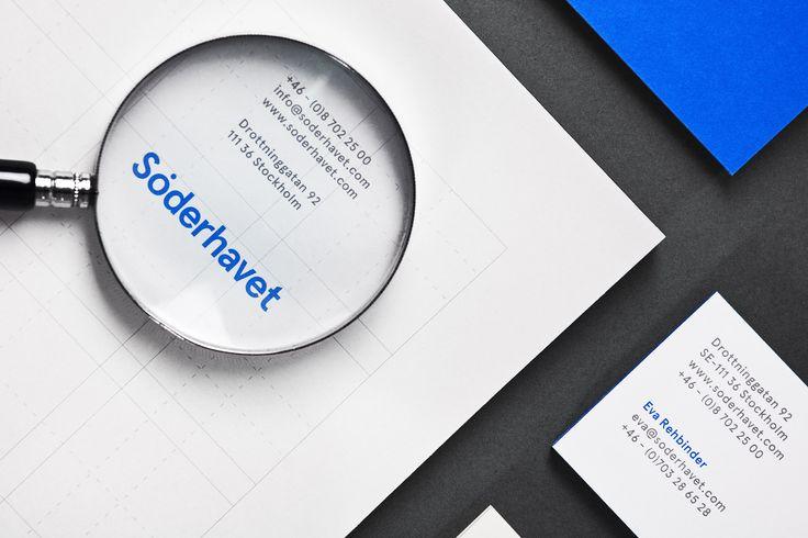 Söderhavet visual identity by Lundgren+Lindqvist