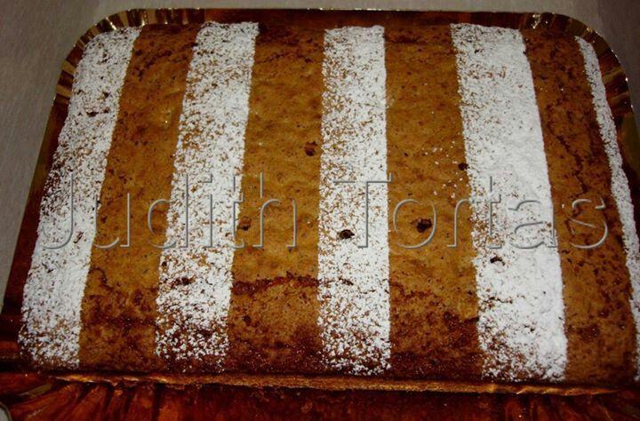 Carrot cake rayas
