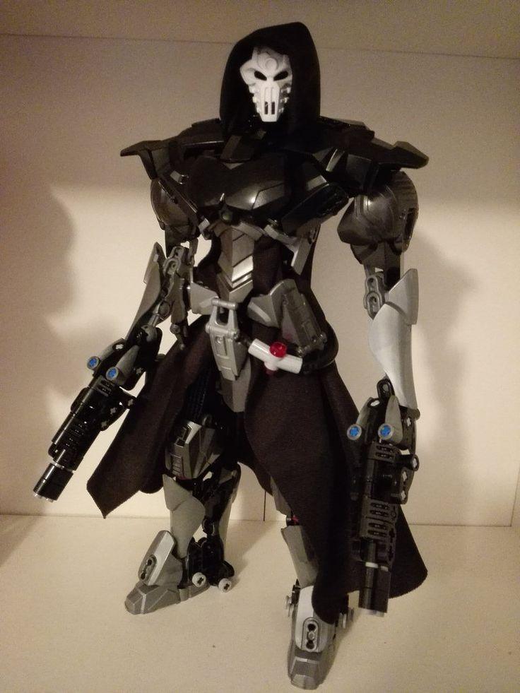 Reaper Ultrabuild #LEGO #Overwatch #Reaper #Ultrabuild #Hero Factory #Bionicle #Constraction #Blizzard http://www.flickr.com/photos/93700482@N04/33231775761/