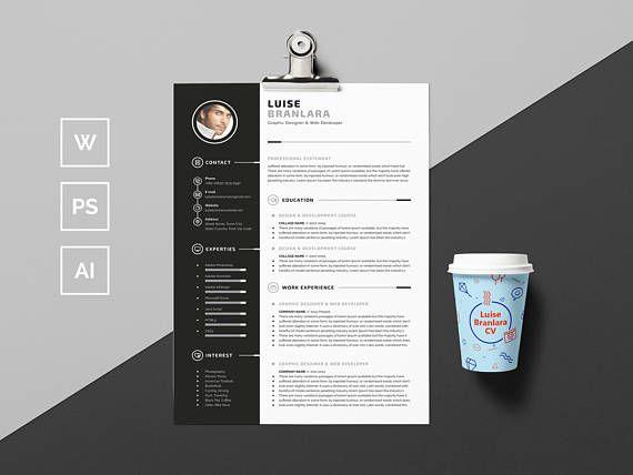 17 best CV inspo images on Pinterest Resume, Resume templates and