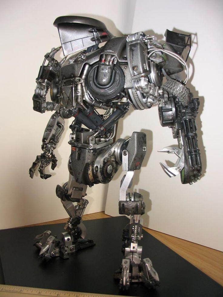Cain: Robocop 2 custom built figure!