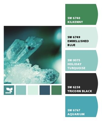 Paint colors from Chip It! by Sherwin-Williams HOLIDAY TURQUOISE IS THE SAME COLOR AS TIFFANY BLUE!