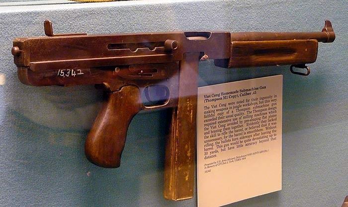 vietnamese copy of the thompson submachine gun weapons aka tools rh pinterest com