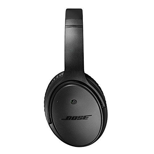 Bose QuietComfort 25 Noise Cancelling Headphones, Special Edition for Apple Devices, Triple Black