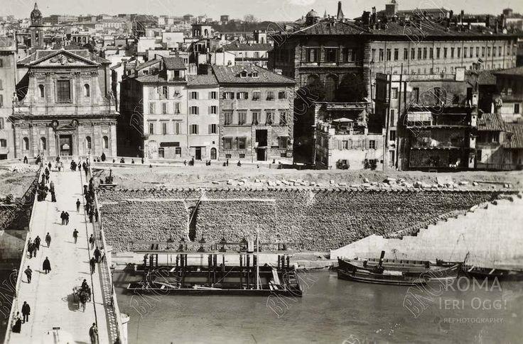 Ripetta (1890 ca)Roma Ieri Oggi | Roma Ieri Oggi