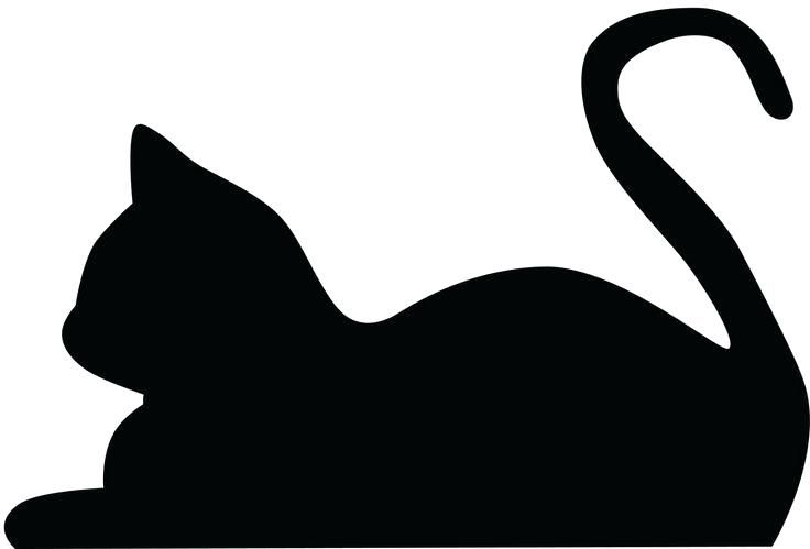 Download Image result for black cat face clipart | Cat silhouette ...