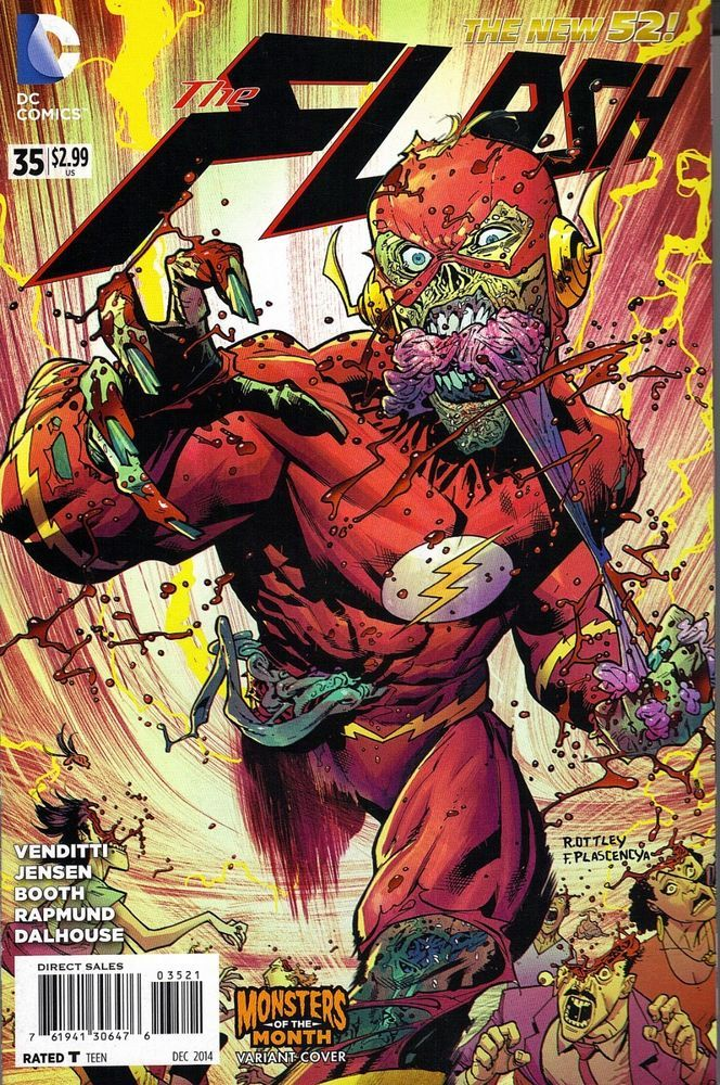 FLASH #35 MONSTER VARIANT HALLOWEEN  NM  HOT