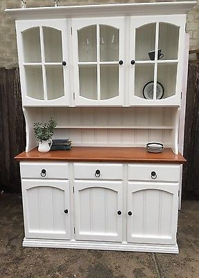 Sideboard buffet hutch French provincial dining Hamptons chic country style set