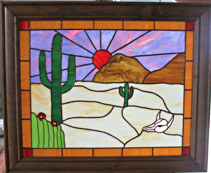 14 best framed stained glass windows images on Pinterest | Fused ...