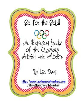 ancient and modern olympic games pdf