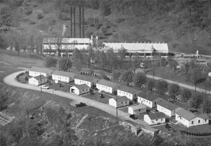 Hastings West Virginia,  Hope gas company houses