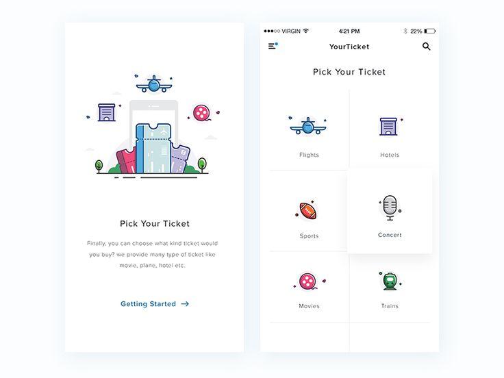 Ticket apps