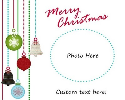 More free christmas card templates in costco sizes