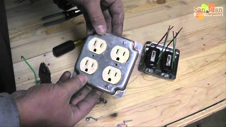 Outlet Receptacle Wire Up How To Outlet Wiring Light