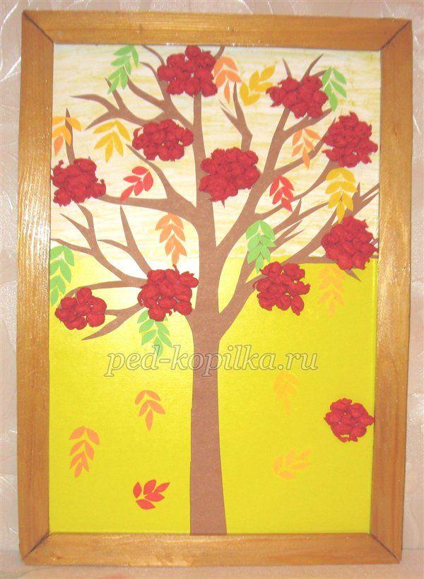Осенние поделки своими руками в детском саду. Мастер-класс