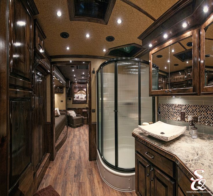 39 Best Amazing Horse Trailer Living Quarters Images On