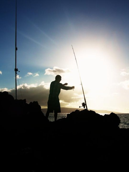 200 best images about ulua hawaii fishing on pinterest for Maui shore fishing