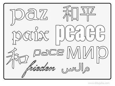 Ms de 25 ideas increbles sobre Cartel de la paz en Pinterest