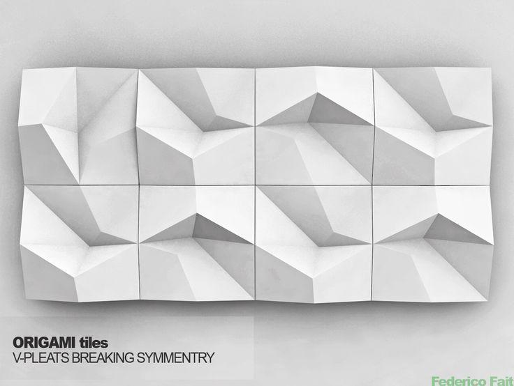 origami tile design - Google Search