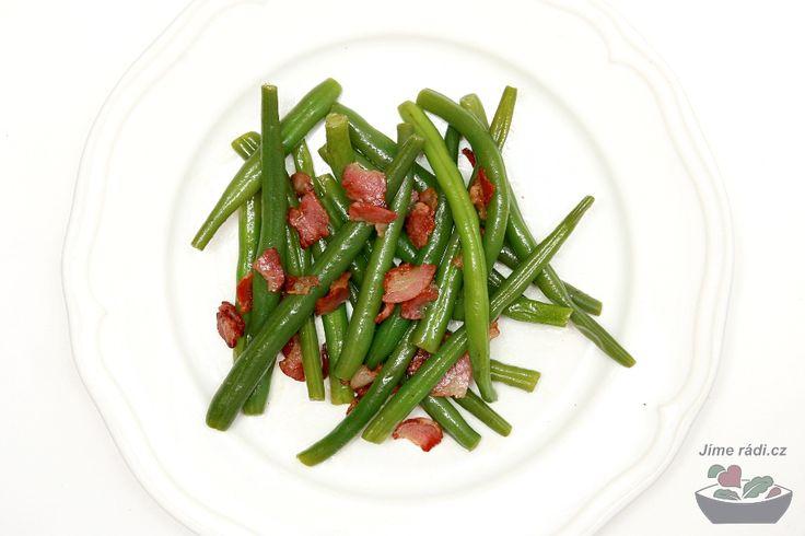 Zelené fazolky jako příloha