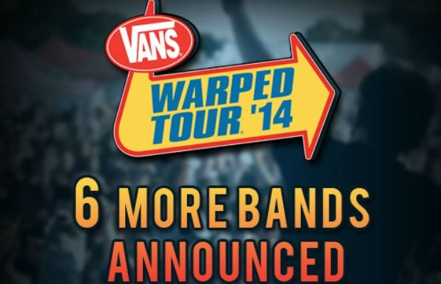 6 more bands announced! #WarpedTour