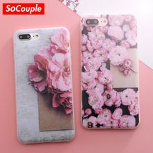 Phone Case For iphone 5 5S SE 6 more 6 s 6 7 7 more Casing Scratch Marble Stone Image Painted Tpu Silicone Case Cover (China (Mainland))