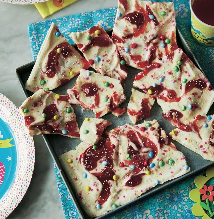 Asda Good Living   Yoghurt and raspberry bark