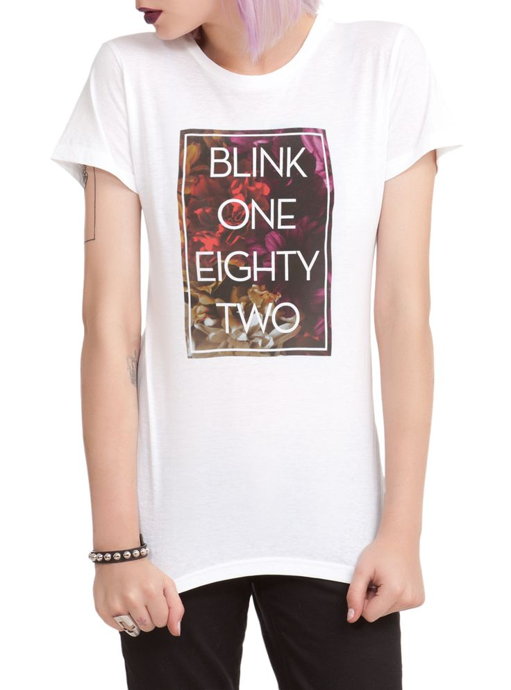 Blink-182 Floral Girls T-Shirt | Hot Topic $22
