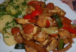 Adžika masovo-zeleninová směs