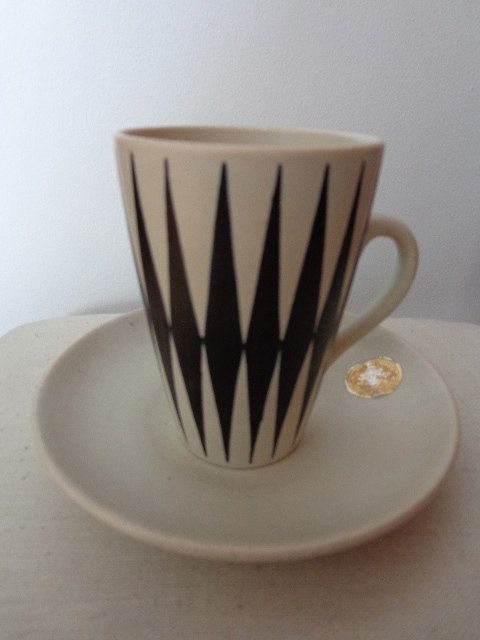Made in Finland Kupittaan Savi coffee cup by SabriinasCollections